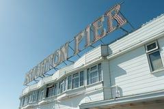 Brighton-Pier Lizenzfreies Stockfoto