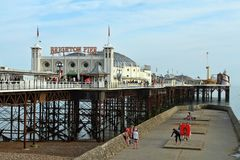 Brighton pier Royalty Free Stock Images