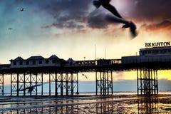 Brighton pier Stock Photos