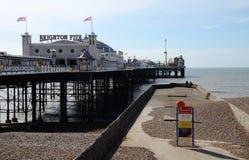 Brighton Pier, Brighton, England, Großbritannien Lizenzfreie Stockfotografie