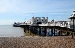 Brighton Pier, Brighton, England, Großbritannien Stockbilder
