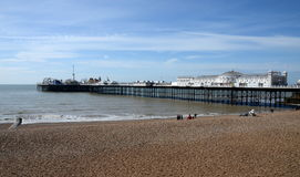 Brighton Pier, Brighton, England, UK Royalty Free Stock Photo