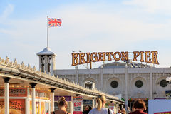 Brighton Pier in Brighton, England Stock Photo