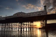 Brighton-Pier carrusel Lizenzfreie Stockfotos