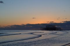 Brighton-Pier carrusel Lizenzfreie Stockfotografie