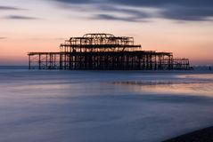 Brighton pier Stock Image