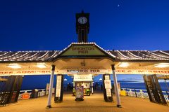 Brighton Pier England royalty free stock photos