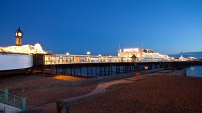 Brighton Pier England Royalty Free Stock Photography