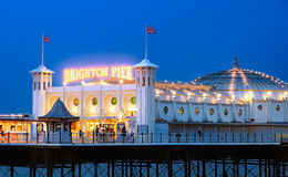 Brighton Pier, England Stock Photography