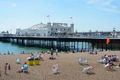 Brighton Pier. England Stock Photo