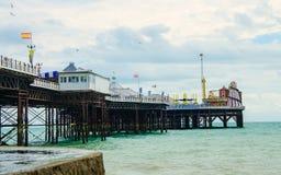 Brighton pier on the English coast Stock Photography