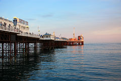Brighton Pier Evening. Brighton Pier in the evening Royalty Free Stock Photography