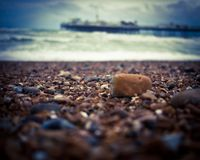 Brighton Pier, Großbritannien lizenzfreie stockbilder