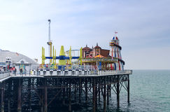 Brighton Pier Rides Royalty Free Stock Photography
