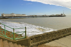 Brighton pier. Royalty Free Stock Images