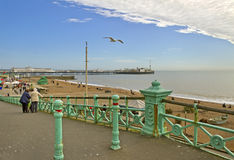 Brighton pier. Royalty Free Stock Image