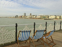 Brighton pier. Royalty Free Stock Photo