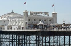 Brighton Pier. Sussex. England Royalty Free Stock Image