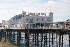Brighton Pier, Sussex, England Royalty Free Stock Image