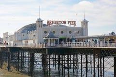 Brighton Pier, Sussex, Inglaterra Imagen de archivo libre de regalías