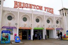 Brighton Pier, Sussex, UK. stock image