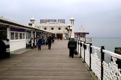 Brighton pier, Sussex, UK. Stock Photo