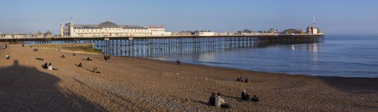 Brighton Pier in Sussex Stock Photography