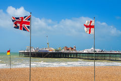 Brighton Pier. UK Royalty Free Stock Photos
