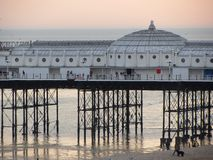 Brighton Pier. A view of Brighton Pier, England Stock Image