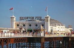 Brighton pir i sommar Royaltyfria Foton