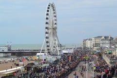 Brighton pircarrusel Arkivbilder