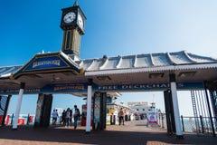 Brighton piringång Fotografering för Bildbyråer