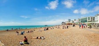 Brighton plaża Fotografia Stock
