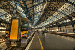 Brighton railway station Stock Photo