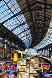 Brighton Railway station and train in Sunshine Stock Photos