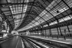 Brighton railway station Royalty Free Stock Photos