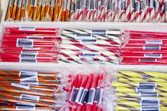 Brighton rock Stock Photo