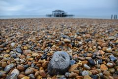 Brighton rock Royalty Free Stock Photos