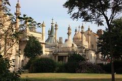 Brighton royal palace. Royal Pavilion in Brighton, England stock photos