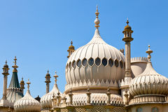 Brighton Royal Pavilion domes Royalty Free Stock Photo