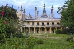 Brighton Royal-Pavilion sida-sikt Royaltyfria Bilder