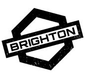 Brighton rubber stamp Stock Image