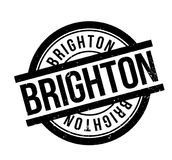 Brighton rubber stamp Stock Photos