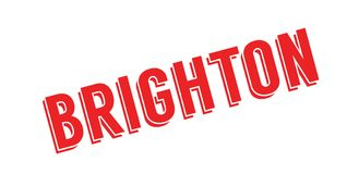 Brighton rubber stamp Royalty Free Stock Photography