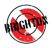 Brighton rubber stamp Stock Images