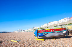 Brighton's cost Royalty Free Stock Photo