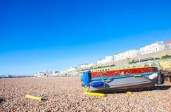 Brighton's cost Royalty Free Stock Photo