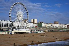 Brighton Seafront Royalty Free Stock Photography
