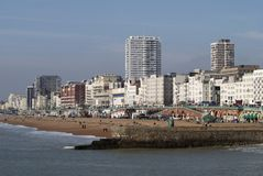 Brighton seafront. East Sussex. England Stock Photo