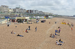 Brighton Seafront, East Sussex, England Stock Photo
